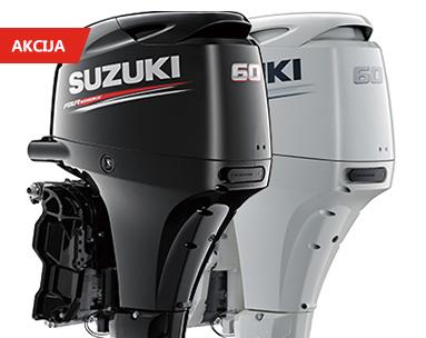 Suzuki DF60ATL v akciji kar 1.600€ ugodneje!